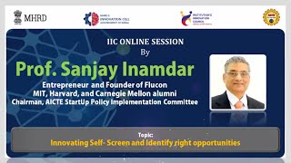 Learn From Leaders || Talk On Innovating Self  Screen and Identify right opportunities