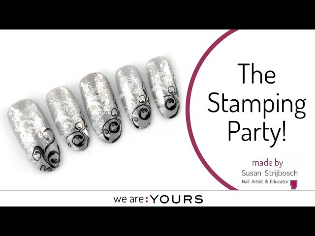 Stamping with the CND stamping plate
