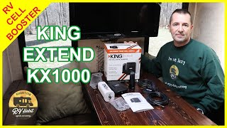 King Extend LTE Cell Signal Booster - KX1000 – How To Install in the RV and Review - RV Upgrades