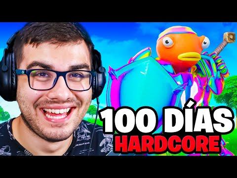 Sobreviví 100 Días en Fortnite Hardcore!