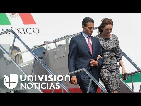 Peña Nieto, señalado de haber utilizado el avión presidencial para viajar con familiares y amigos
