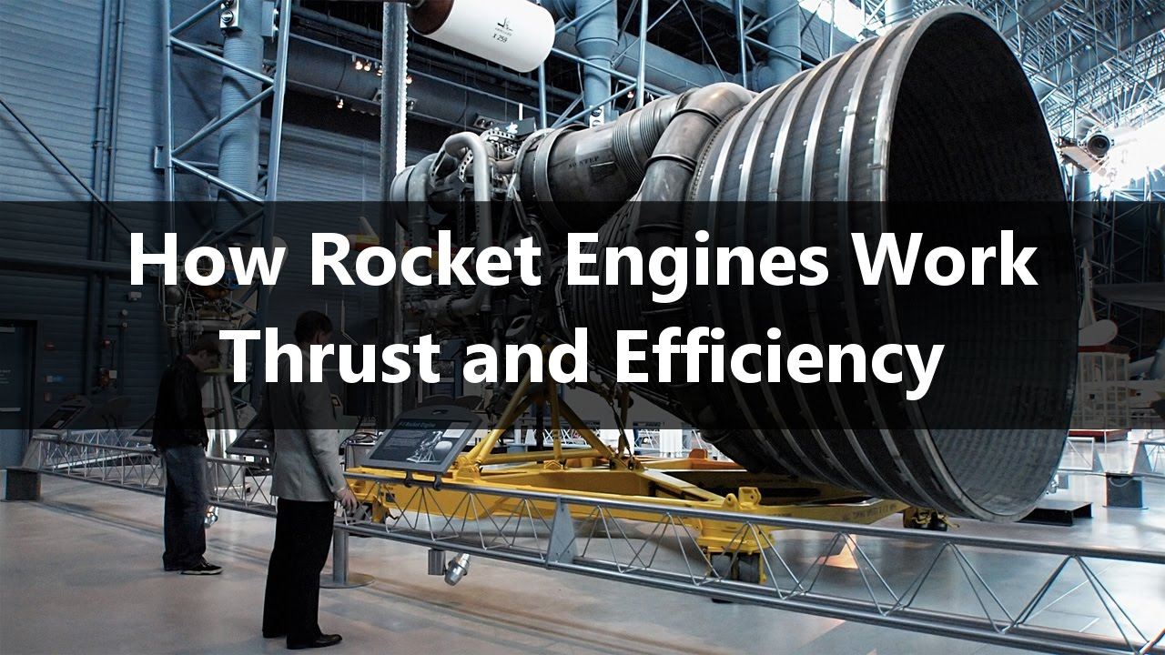 How Rocket Engines Work Part 1 Thrust And Efficiency Youtube Saturn V F1 Engine Diagram