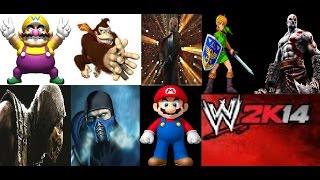 WWE 2k14 20 Man Video Game Royal Rumble