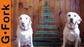 Pallet Christmas Tree - GardenFork