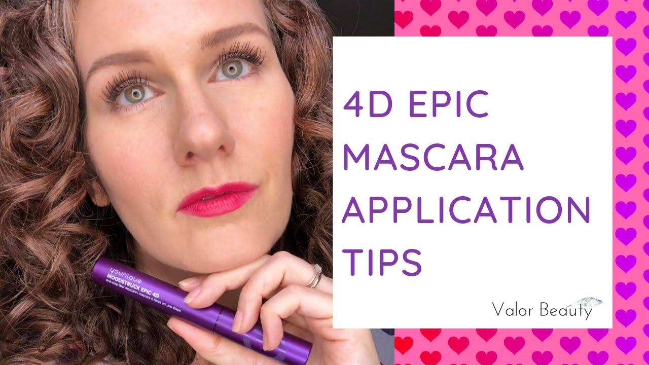 16ee53924c7 4D Epic Mascara Application Tips - YouTube