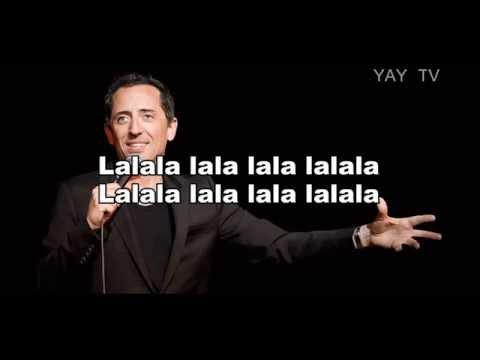 "gad elmaleh & lima project ""danse de la joie (Lalala)"" - (Paroles- Lyrics) HD"