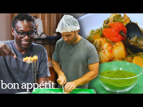 Andy Learns How to Cook Senegalese Food | Bon Apptit