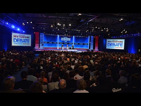 New Hampshire Democratic Primary Debate at Saint Anselm College (2015)