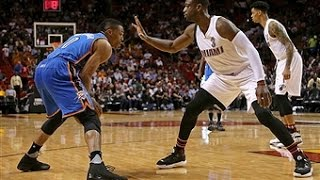 Miami Heat vs Oklahoma City Thunder - December 3, 2015