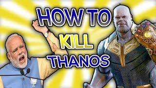 Avengers Infinity War || how to kill thanos in hindi