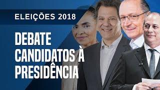 DEBATE DOS CANDIDATOS À PRESIDÊNCIA DA REPÚBLICA - 26/09
