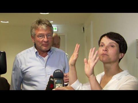 """Meuthen unterbricht Petrys TV-Interview: """"Ich würde ja sagen, brecht das mal ab"""""""