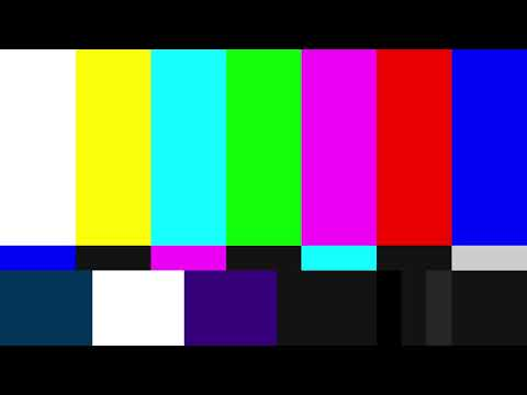 SMPTE Color Bars with Pink Noise - 1920x1080 - 90 Minutes