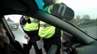Незаконный досмотр и задержание на Посту Лаишевского КПМ Казань 2014г.