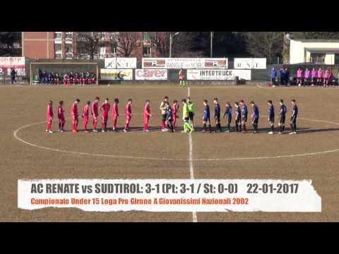 AC Renate vs Sudtirol: 3-1 Under 15 Lega Pro Highlights 22-01-2017