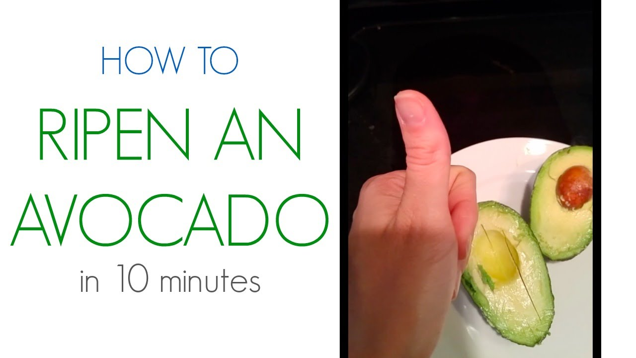 Image result for how to ripen an avocado in 10 minutes