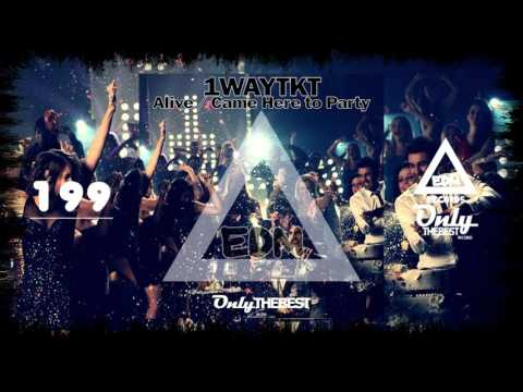 1waytkt---alive-/-came-here-to-party-#199-edm-electronic-dance-music-records-2015