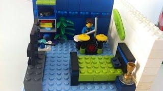 Como construir um quarto de garoto de Lego 1