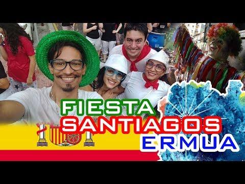 FIESTA DE SANTIAGOS EN ERMUA - Partiu Com Nois