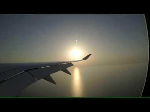 Qatar Airways | QTR915 | A350 | A7-ALP | Landing Doha | RWY34R | Adelaide Doha | 23/07/2017 |