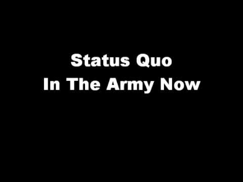 Status Quo - Youre In The Army Now (karaoke)