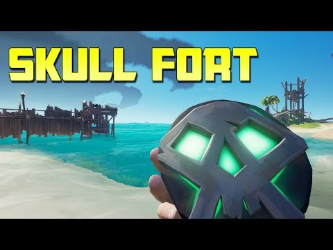 VIKING SKULL FORT INVASION ! - Sea of Thieves Gameplay & Funny Moments