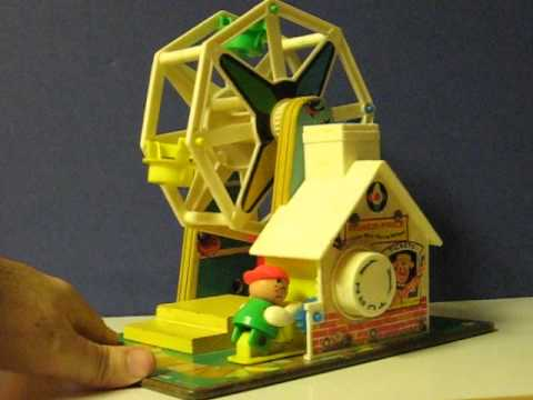 Sale Item Demo - Fisher Price Music Box Ferris Wheel - 1966