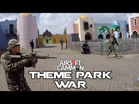 Theme Park Airsoft War - Abandoned Amusement Park - Ai500 Pleasure Island - SRS Silverback TM HiCapa