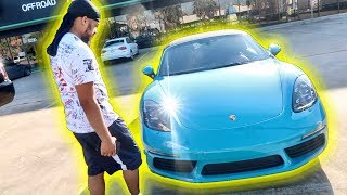 SURPRISED MY LIL BROTHER WITH $100,000 CAR!!!