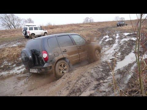 видео: СТОКОВАЯ НИВА 3d Нива Шевроле Грязевой замес!!!