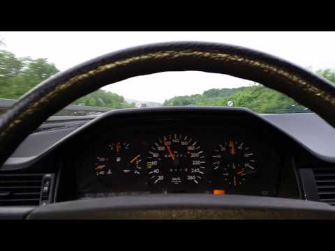 W124 OM603 Holset 35 - 120cc Superturbodiesel 300 HP Test 1 - YouTube