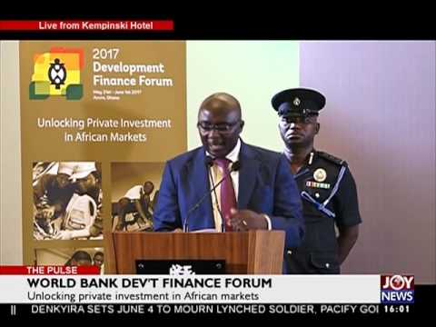 World Bank Dev't Finance Forum - The Pulse on JoyNews (1-6-17)