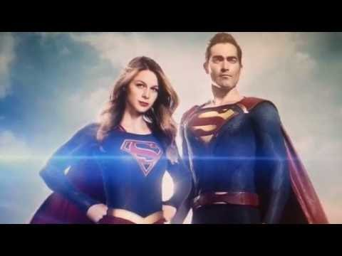 Superman first look Supergirl CW TV series Comic Con 2016 leaked footage Reaction Reactions cosplay