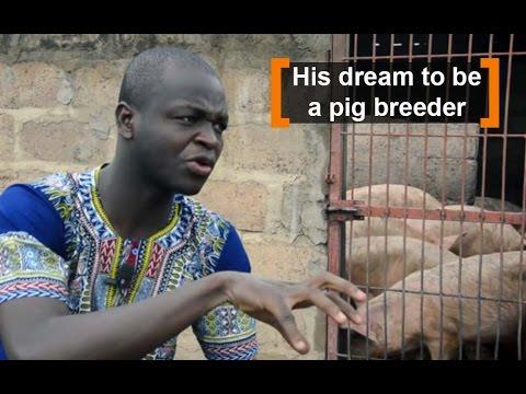 Burkina Faso: His dream to be a pig breeder