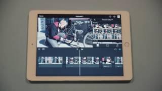 iMovie-opetusvideo - Raakaleikkaus