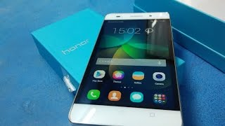 huawei honor 4c white unboxing