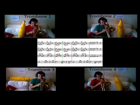 Mario 64 Theme - Paul The Trombonist - Trombone Arrangement