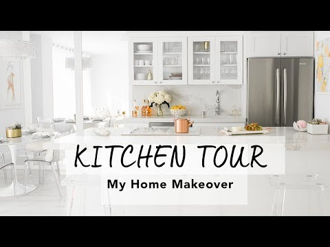 KITCHEN & DINING ROOM TOUR I My Home Makeover