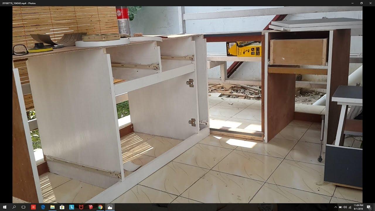 Membuat Kitchen Set Bawah Part2 Perakitan Youtube