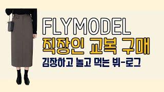 [쇼핑하울] 플라이모델 l 직장인 교복 l 데일리로 입…