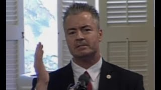 TRAVIS ALLEN TRIGGERED THE LEFT DURING HIS ATTEMPT TO STOP THE SANCTUARY STATE. SB54