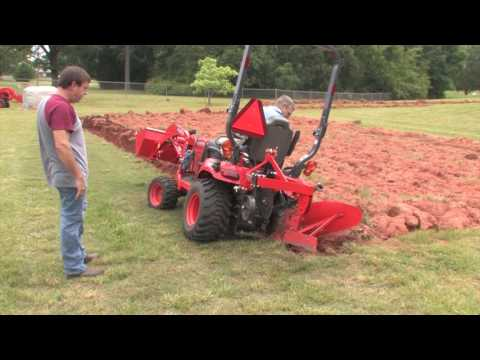 How To Plow With A Subcompact/Kubota BX Tractor