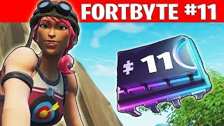 FORTBYTE #11 ☆ DSCHUNGELPAPAGEI ☆ Fortnite Season 9 Deutsch