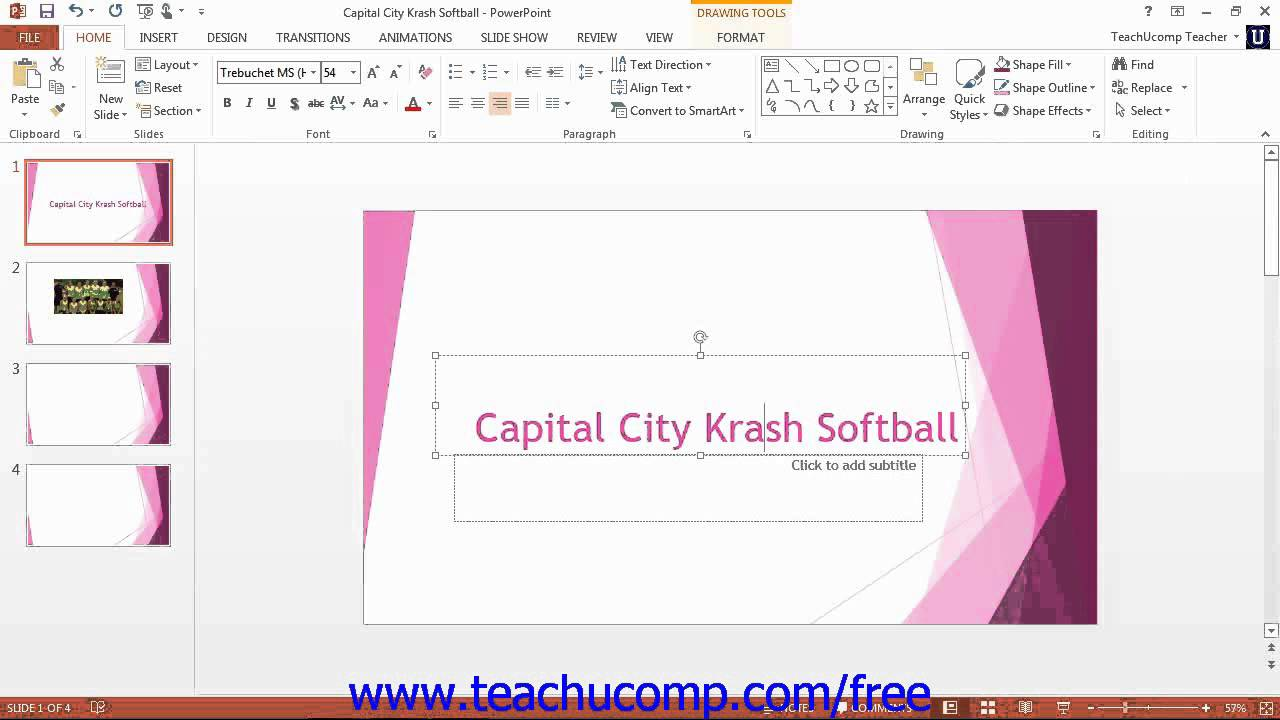 PowerPoint 2013 Tutorial The Zoom Slider Microsoft Training Lesson 1 12