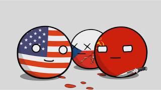Если бы у Snickers был рекламный ролик во время Второй Мировой войны - Countryballs [перевод]