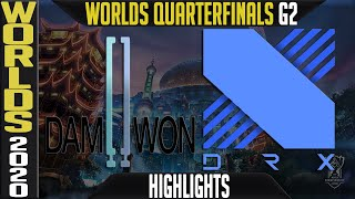DWG vs DRX Highlights Game 2 | Worlds 2020 Quarterfinals Day 9 | Damwon Gaming vs DragonX G2