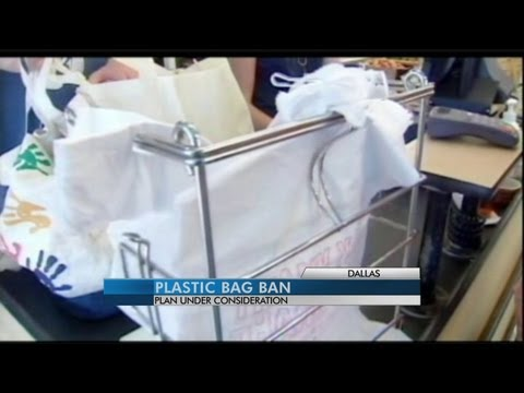 Dallas considers following Austin's lead on plastic bags
