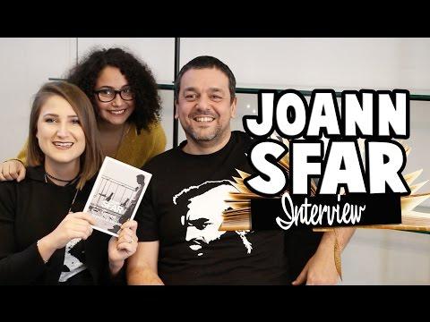 Joann Sfar se livre ! Ft. Nine