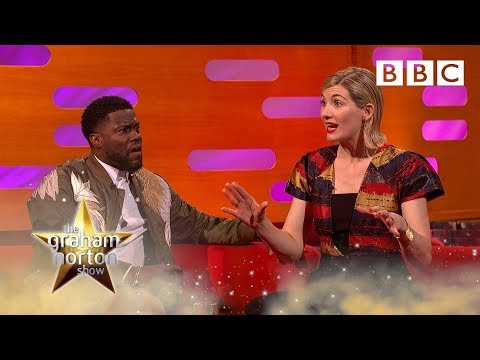 Jodie Whittaker was nearly killed by a VENOMOUS spider filming Doctor Who   Graham Norton Show - BBC