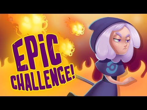 Challenge! Learn Arcane Spells with the Genie, Monk & Warlock! Secret Magic Shop | TutoTOONS Games